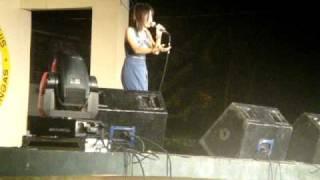 KATRINA VELARDE Singing Ngayon at Kailanman @ San Luis Batangas 02,26.11