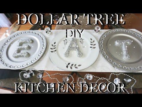 DOLLAR TREE DIY BLING GLITTER LETTERS  KITCHEN DECOR  PETALISBLESS🌹