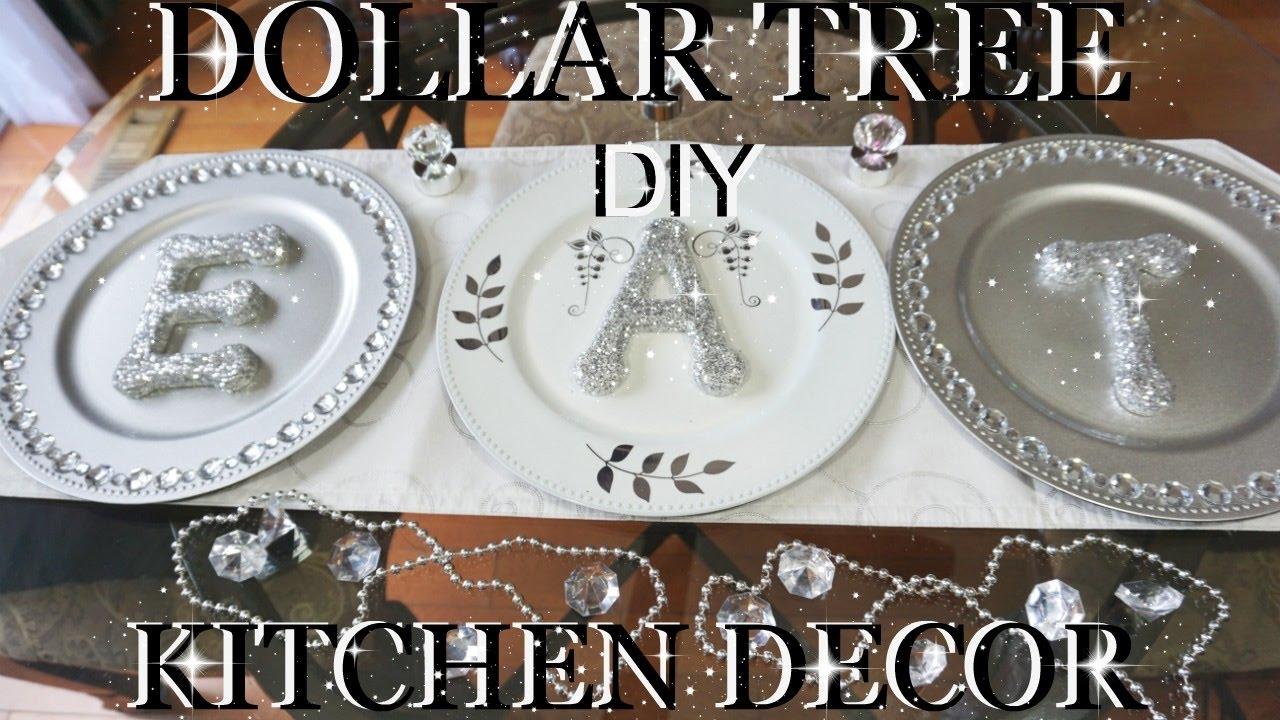 Dollar Tree Diy Bling Glitter Letters Kitchen Decor Petalisbless