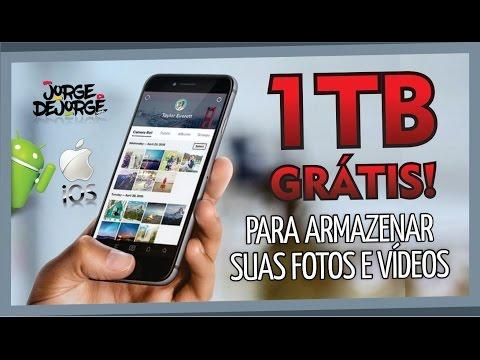 Adeus Cartão de Memória! 1TB GRÁTIS Android e iOS