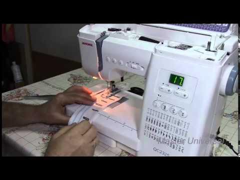 Обзор швейной машины Janome DC (Decor Computer) 601 - YouTube