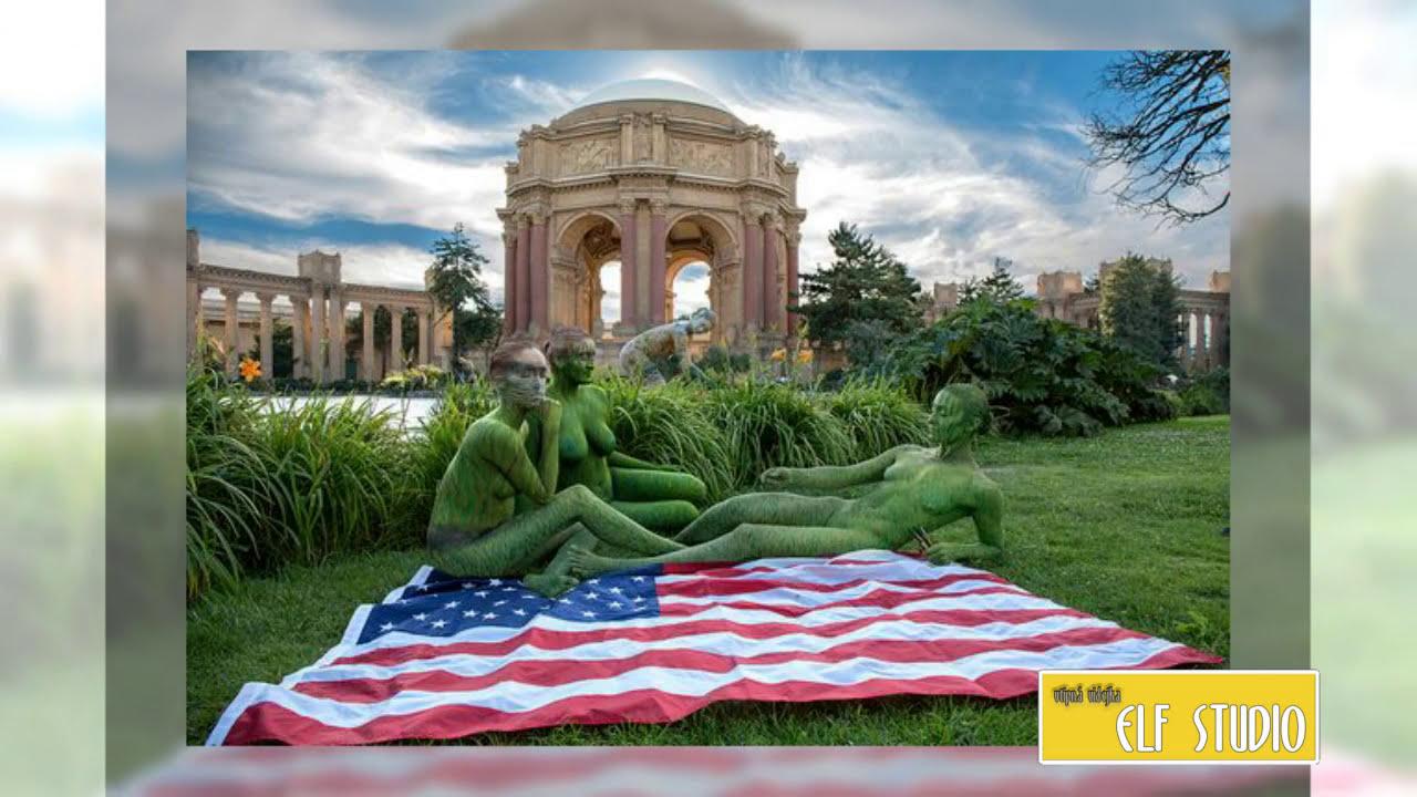 Most Amazing Body Paint Camouflage 2017 Youtube
