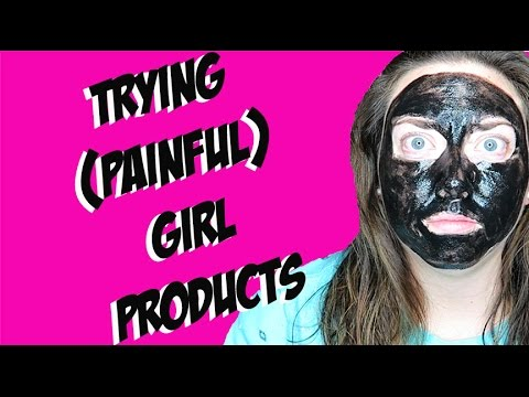 Trying (Painful) Girl Products