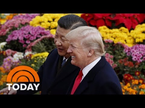 President Donald Trump, In Beijing, Softens His Tone Toward China | TODAY