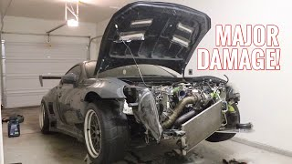 Rebuilding my 'WrEcKeD' Turbo'd Subaru BRZ!