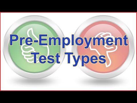 How To Pass Pre Employment Tests - Pre Employment Test Types and Tips for Passing