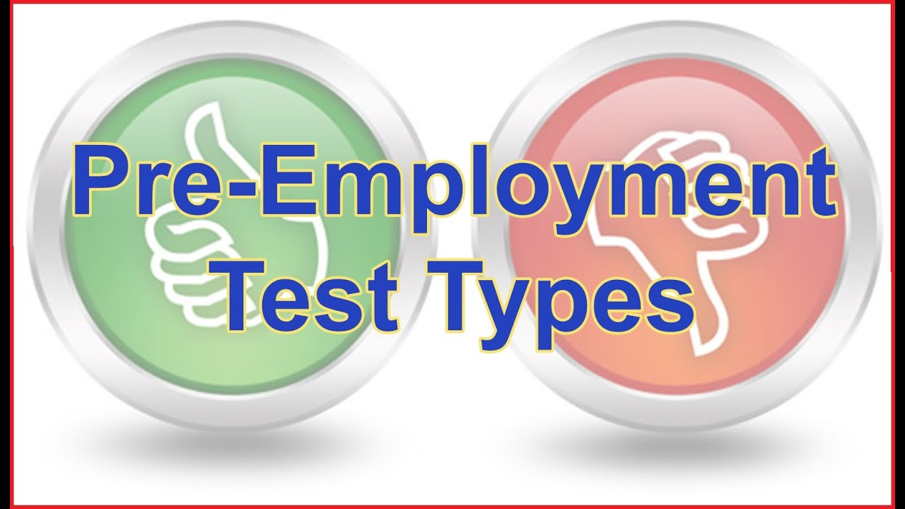 how to pass pre employment tests pre employment test types and how to pass pre employment tests pre employment test types and tips for passing