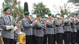 la marseillaise joue par la musique de la bundeswehr de siegburg