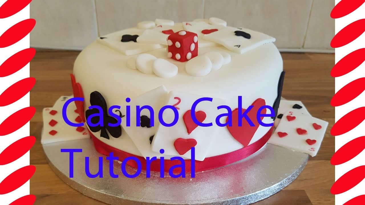 How To Make A Casino Cake With Playing Cards Adult Cakes
