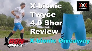 X bionic Twyce 4 0 Running Shorts Review + GIVEAWAY X-BIONIC