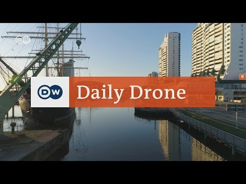 #DailyDrone: The old harbor in Bremen | DW English