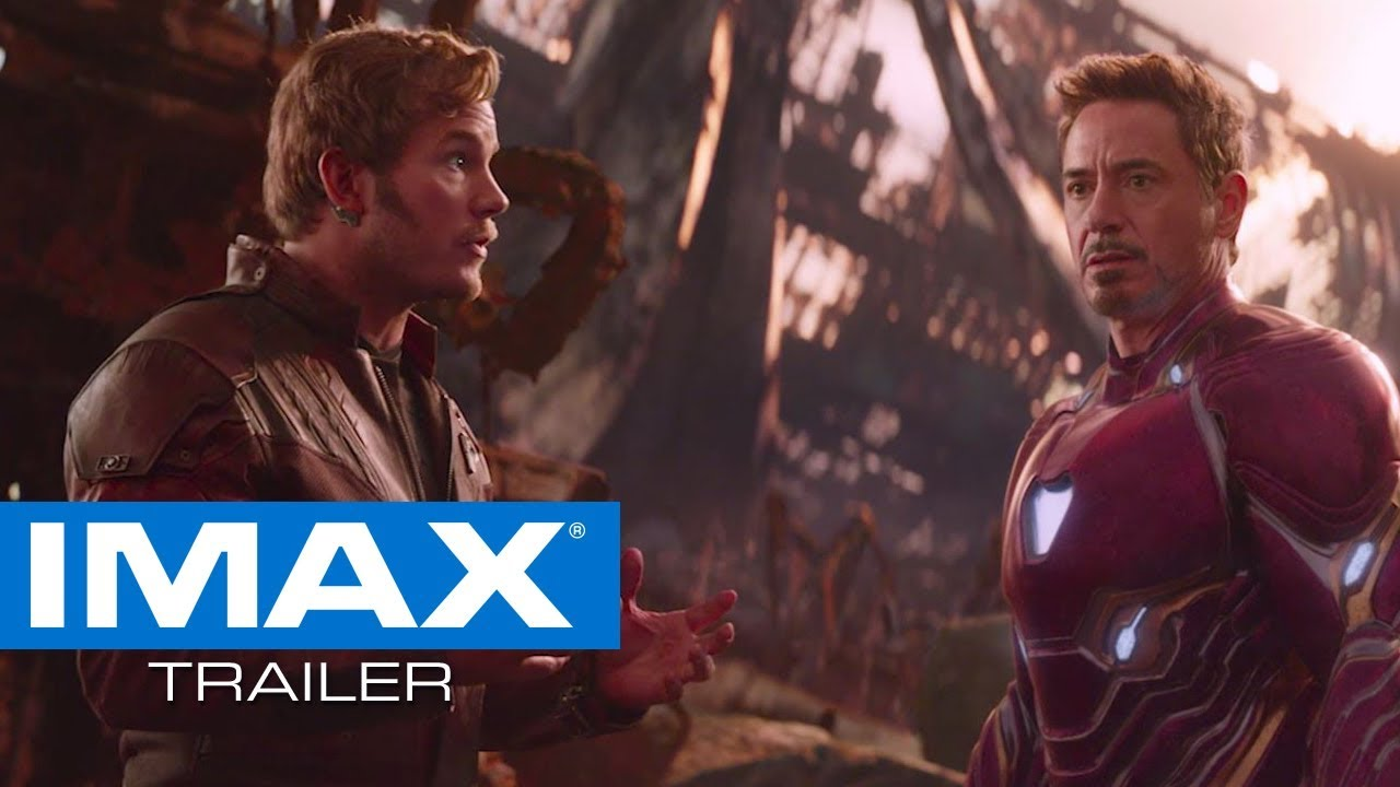 avengers: infinity war imax® trailer #2 - youtube