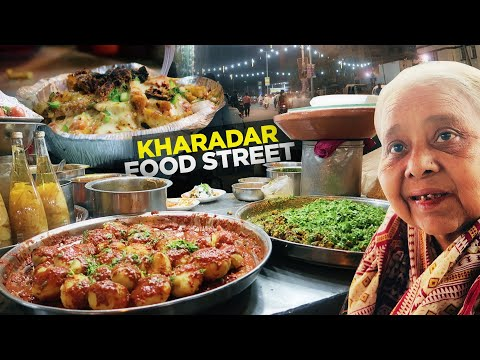 Food Street of Kharadar, Karachi | Pizza Fries, Qadir Chat, Sanober Icecream | Pakistani Street Food