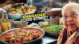Food Street of Kharadar, Karachi | Pizza Fries, Qadir Chat, Sanober Icecream | Pakistani Street Food