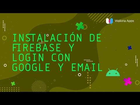 Firebase Android Login [Tutorial] - ¡Crea Un Sistema De REGISTRO Sin Usar SERVIDOR Ni WEBSERVICES!
