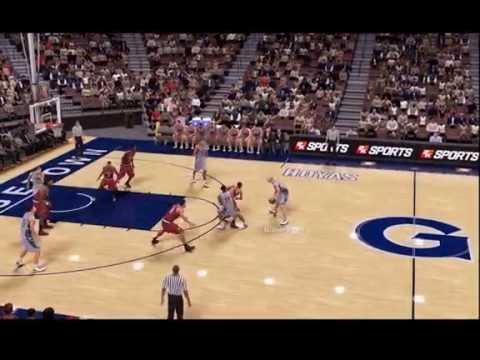 NBA2K16 (Mi Carrera - Universidad) - Mate a una mano con los Hoyas (Georgetown)