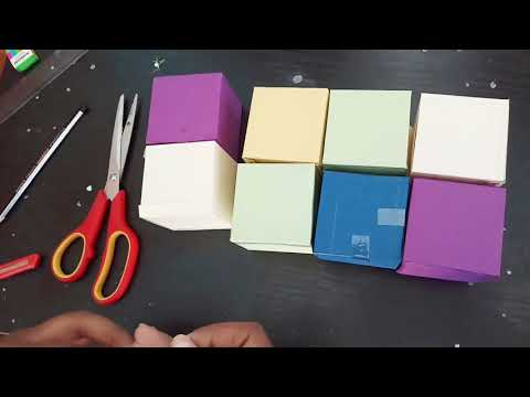 DIY Magic Photo Cube Tutorial | Modish DIY Crafts