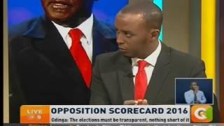 Amendment of ELECTION LAWS ILLEGAL - Raila