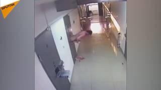 拘置所の食事を出し入れする小窓から窃盗犯逃亡、ダゲスタン