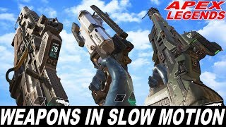 APEX LEGENDS - All Weapons Reload Animations In Slow Motion
