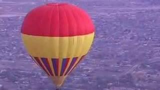Hot Air Balloon Ride over Albuquerque, New Mexico