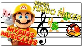 SUPER MARIO MAKER | LOS MEJORES NIVELES AUTOMÁTICOS MUSICALES EN 2.0 | GAMEPLAY ESPAÑOL | WII U