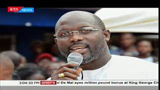 George Weah elected as the president in Liberia