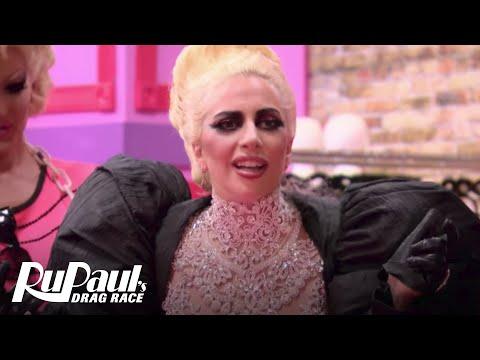 Lady Gaga Fangirling w/ RuPaul's Drag Race Season 9 Queens | #DragRaceGoesGAGA | Now on VH1!