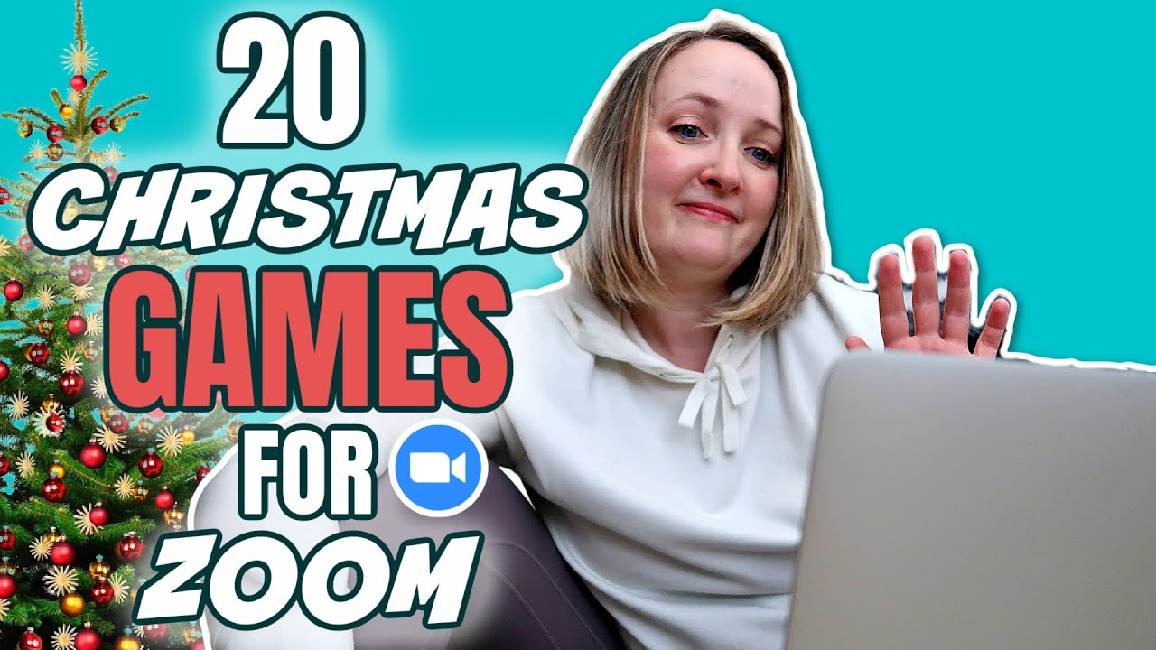 20 Christmas Games For Zoom You Ve Never Played Virtual Christmas Party Games Youtube