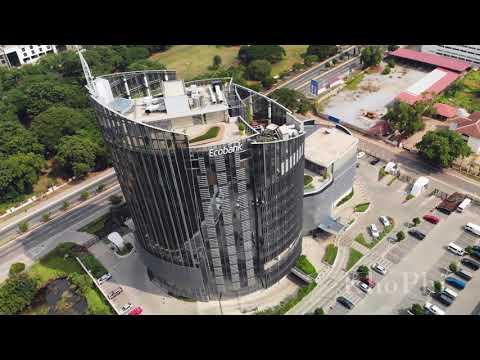 Ecobank Ghana Headquarters 4K Aerial Shots | Landmarks | Aerial Ghana