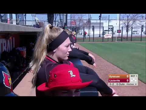 NCAA Softball 2019 : Syracuse Vs  Louisville Mar 16