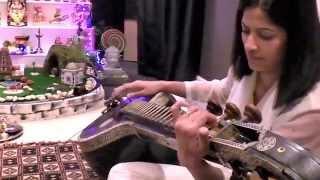 GANANAYAKAYA - Veena by Meera Sharma - Karaoke Instrumental - HD