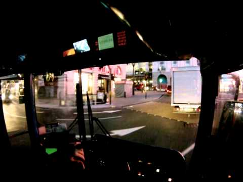 London Bus Driver View Night to Day from Garage - Part 2 ✔