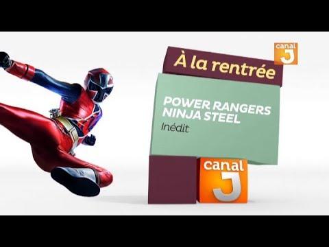 A la rentrée - Power Rangers Ninja Steel sur Canal J !