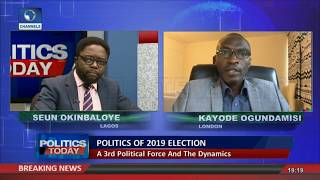 ''PDP Alliance Worrisome For APC But...'' Ogundamisi Analyses Possible Outcome |Politics Today|