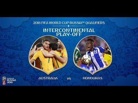 Australia VS HONDURAS  EN VIVO REPECHAJE  15/11/2017