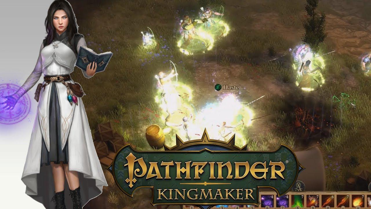 Pathfinder Kingmaker 1 1, River Blades' Camp DC Sorcerer Solo Unfair