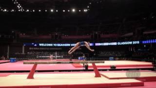 SPIRIDONOVA Daria (RUS) - 2015 Artistic Worlds - Qualifications Balance Beam