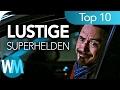 Top 10 der LUSTIGSTEN SUPERHELDEN und SUPERSCHURKEN ✓