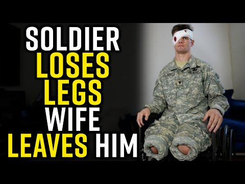 Wife DIVORCES Military Husband After LOSING HIS LEGS!!!! Shocking Ending!!!!