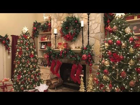 Holiday Home Decoration Reveal - Hallmark Channel - YouTube