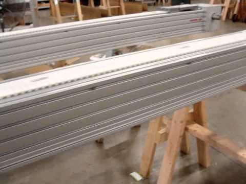 Worlds biggest belt driven linear actuator