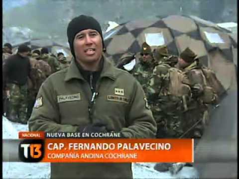 La nueva base del Ejército en Cochrane - Tele 13