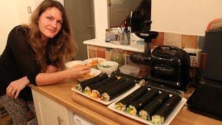 Vegan Sushi Feast!!! How To Make Your Sushi