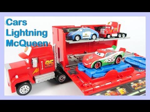 รถแมคควีน รถพ่วง รถตำรวจ รถแข่ง Disney Pixar Cars Lightning McQueen