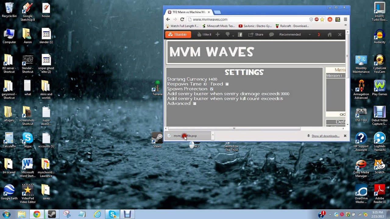 (READ DISC) How to create custom MvM waves tf2 (updated