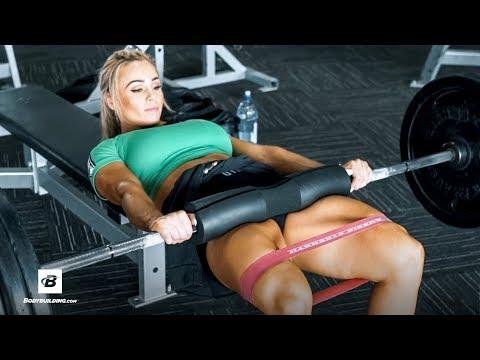 Glutes & Deadlifts Workout   Stephanie Sanzo aka StephFitMum