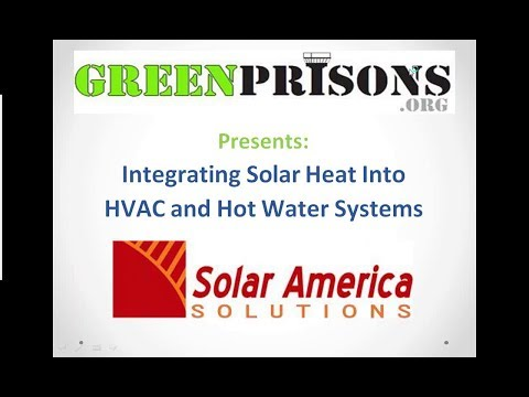 Integrating Solar Heat into HVAC and Hot Water Systems