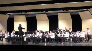 Churchill H.S. Concert band performs Train Heading West