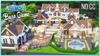 Sims 4 Speed Build - Base Game Dream Home [No CC] | Kate Emerald